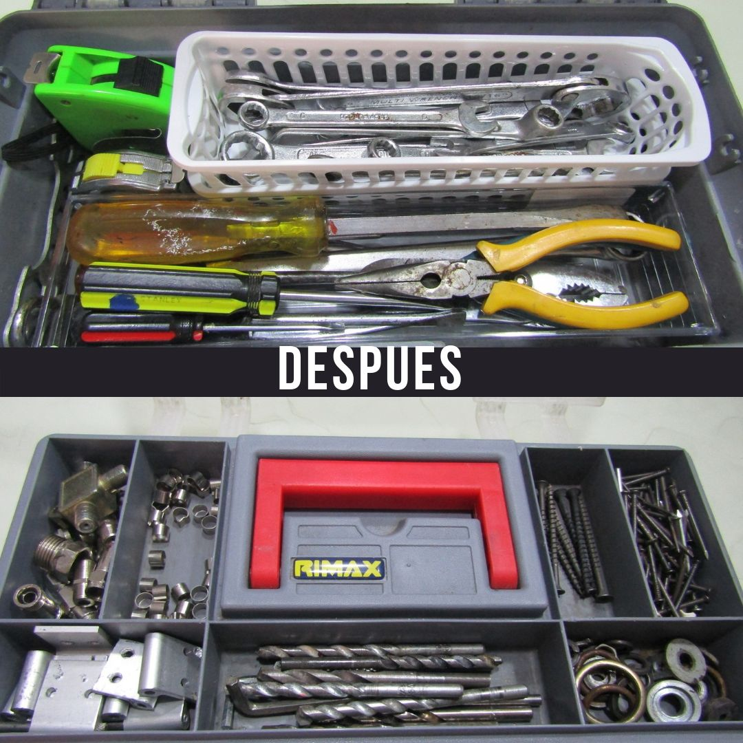ordenar herramientas