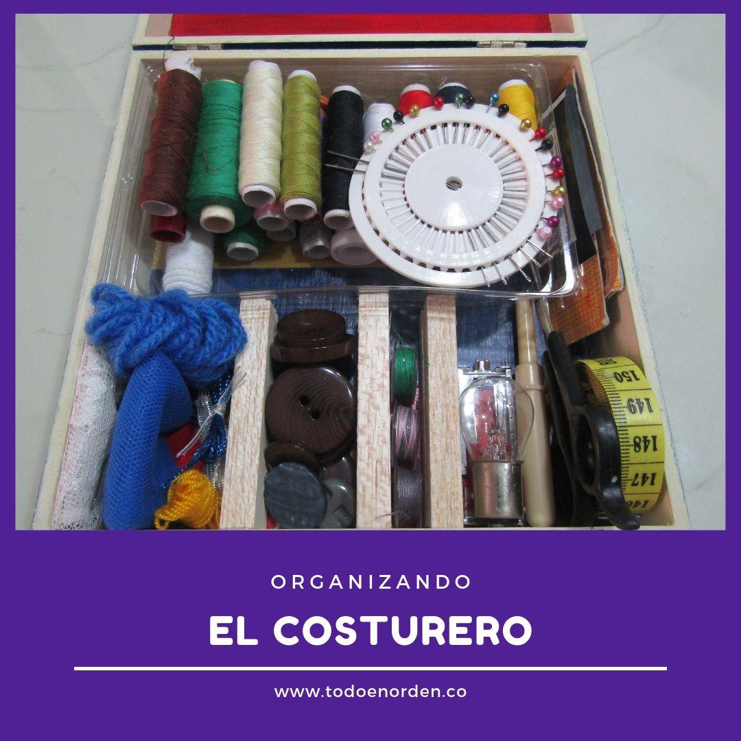 organizando el costurero