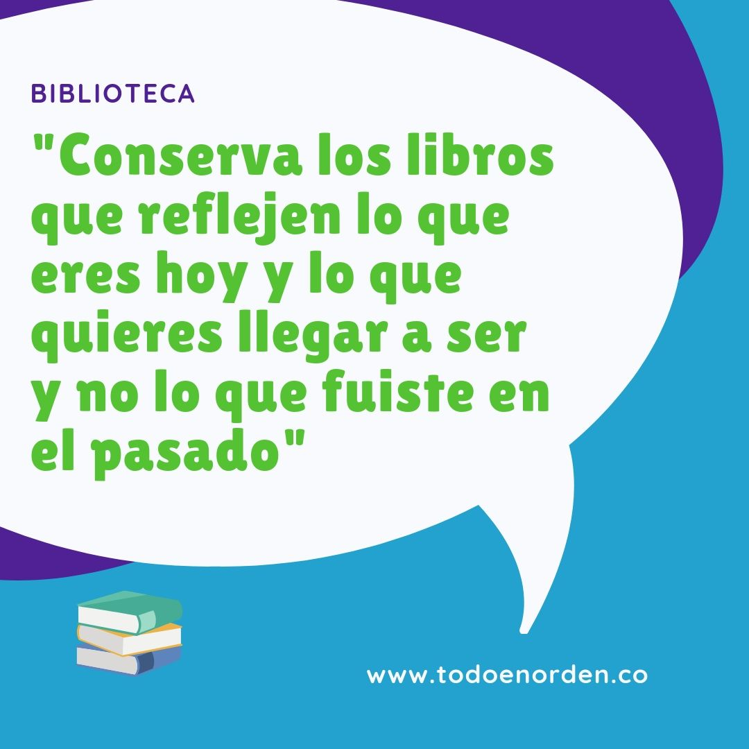 orden en tu biblioteca