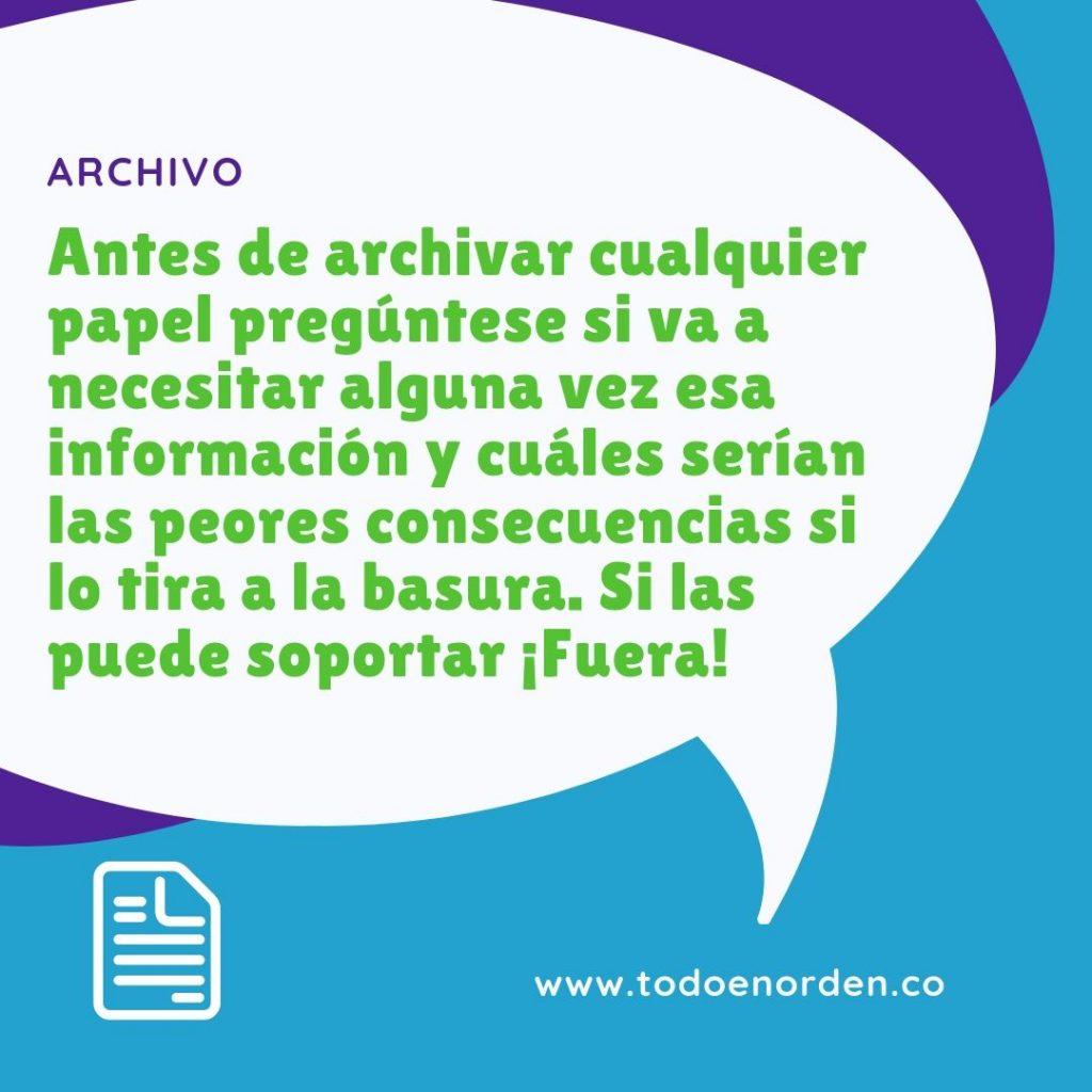 TIP ARCHIVO