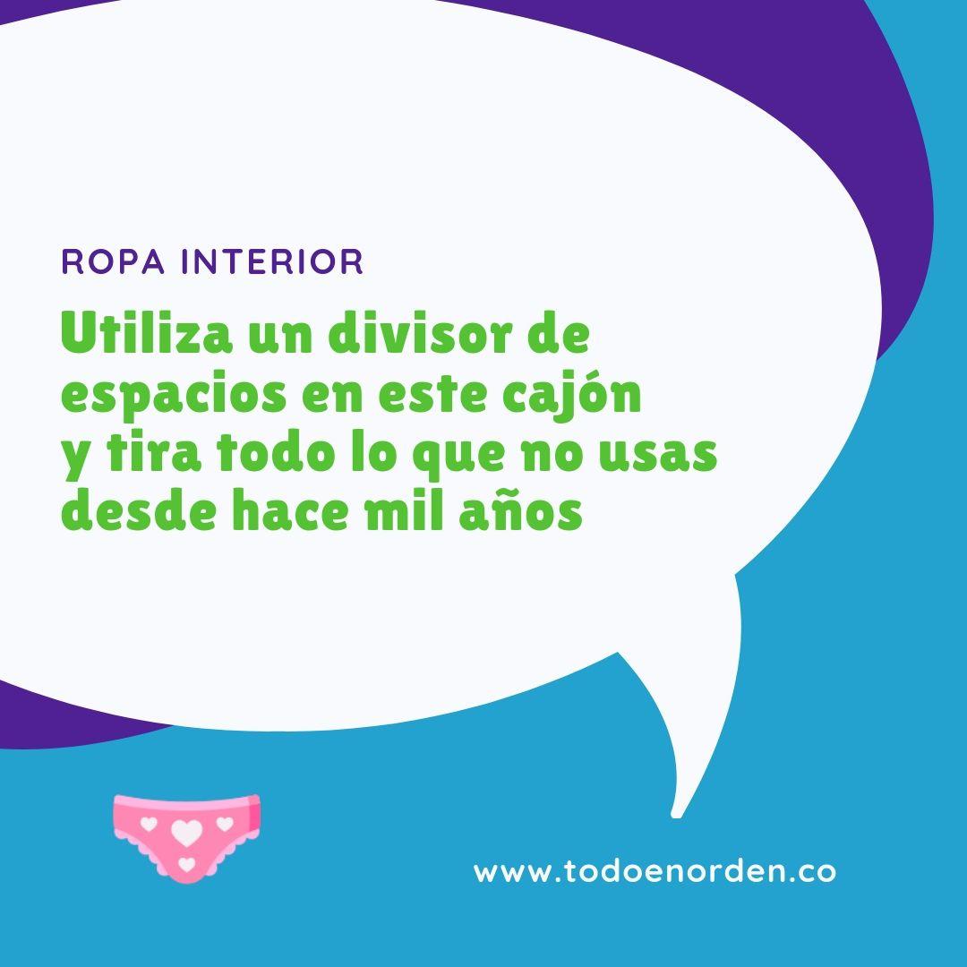 TIP ROPA INTERIOR